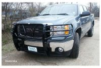 Frontier Truck Grill Guards Frontier 200 30 7005 Gmc Sierra 1500 2007 2013 Grille Guard