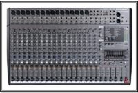 Am 2442fx Phonic Mixer Specifications And Manuals